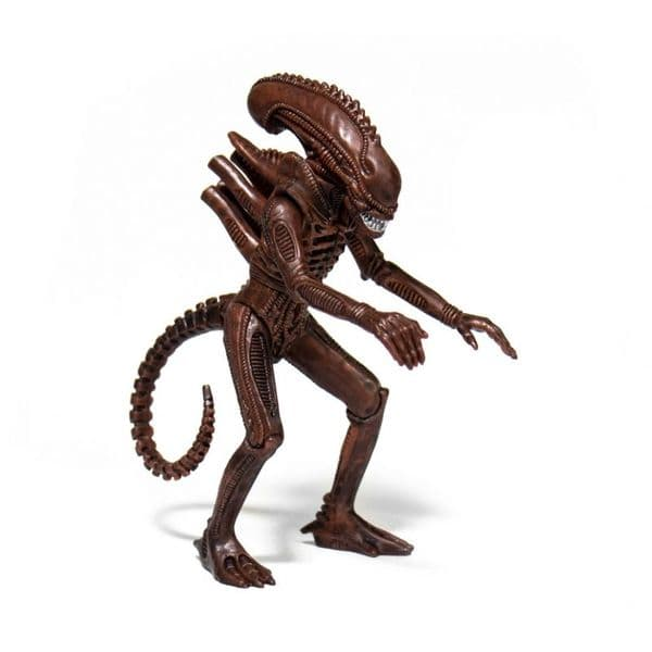 *PRE ORDER* Aliens Alien Warrior B (Dusk Brown) ReAction Figure